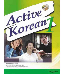 Active Korean 1 (Student Book)- CD included