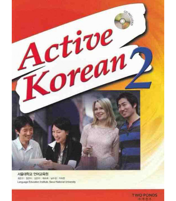 Active Korean 2 (Student Book)- Incluye CD