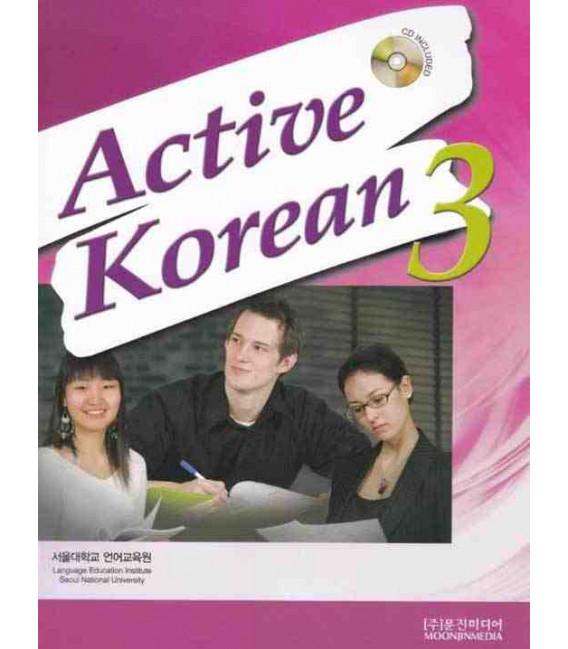 Active Korean 3 (Textbook)- CD incluso