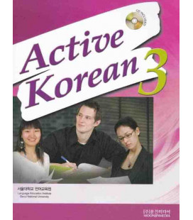 Active Korean 3 (Textbook)- CD inklusive