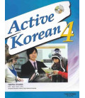 Active Korean 4 (Textbook) - CD inclus