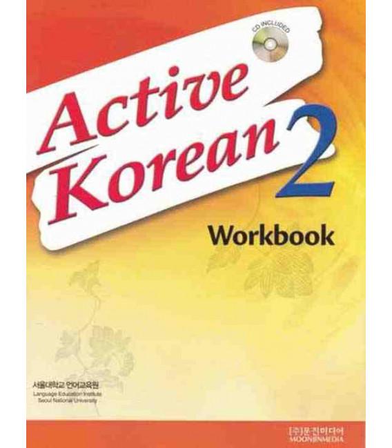 Active Korean 2 (Workbook)- CD incluso