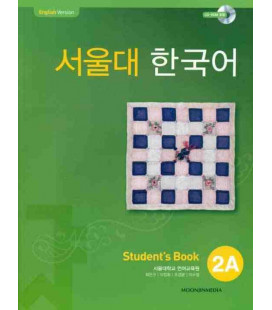 Seoul University Korean 2A Student's Book - English Version (CD-ROM incluso)