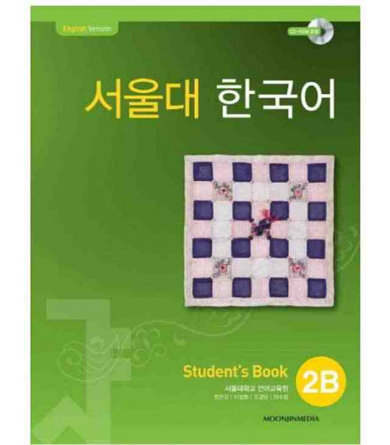Seoul University Korean 2B Student's Book - English Version (CD-ROM incluso)