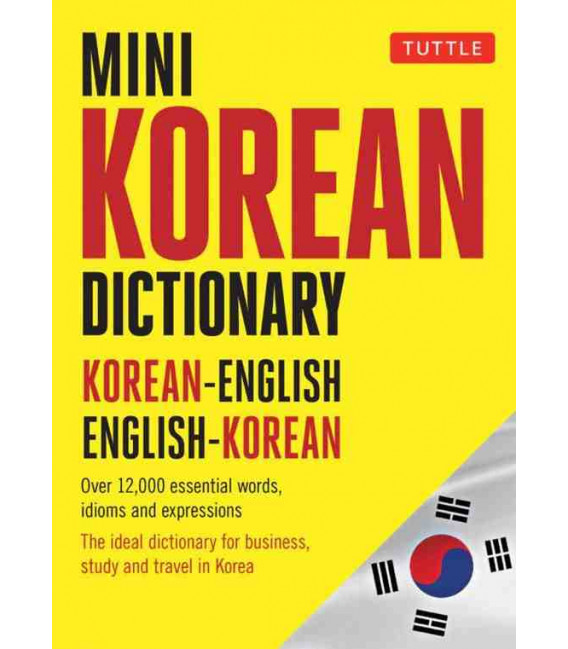 Tuttle Mini Korean Dictionary- Korean-English English-Korean
