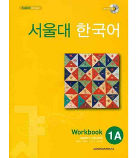 Seoul University Korean 1A Workbook - English Version (Includes CD MP3)