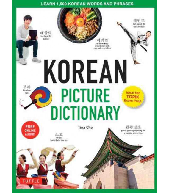Korean Picture Dictionary (Ideal for Topik Exam Prep) -Incluye descarga de audio