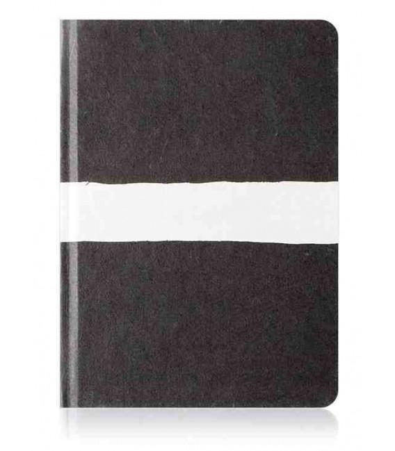 HANJI notebook: Sumuk(S) white brush - Ruled ((koreanisches Hanji-Notizbuch – liniert)