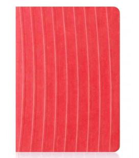 HANJI notebook: Nature (M) Red - Plain Hanji (koreanisches Hanji-Notizbuch - unliniert)