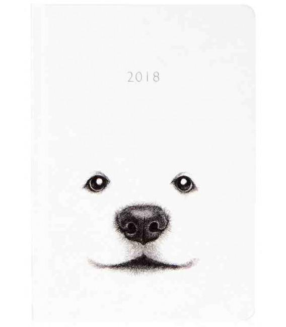 Hanji Notebook: Puppy Jindo - Plain Hanji (Hard Cover)