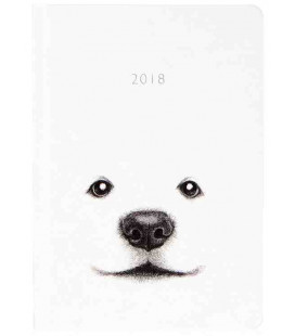 Hanji Notebook: Puppy Jindo - Plain Hanji (Hard Cover)