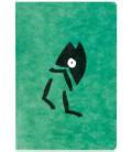 Hanji Notebook: Minwha Walking (Green)- Hanji plain