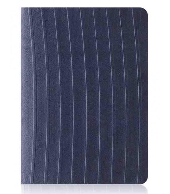Hanji Notebook: Nature (M) Mystical Blue - Ruled