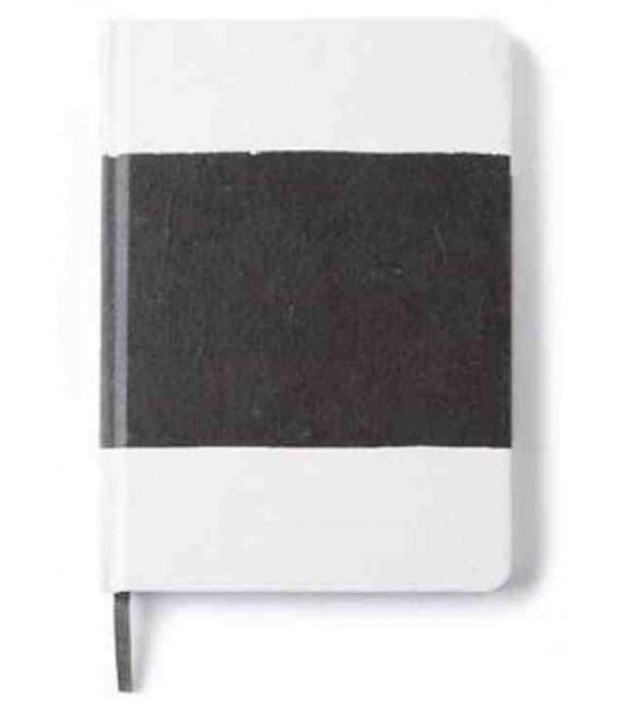 Hanji Notebook: Sumuk (M) Black Brush - Ruled