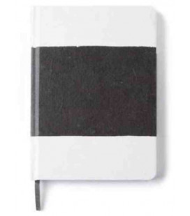 Hanji Notebook: Sumuk (M) Black Brush - Ruled (Cuaderno coreano Hanji- pauta a rayas)