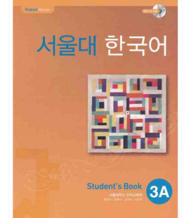 Seoul University Korean 3A Student's Book - English Version (Incluye CD-ROM)