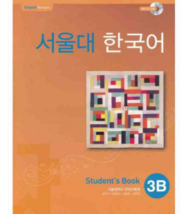 Seoul University Korean 3B Student's Book - English Version (CD incluso)