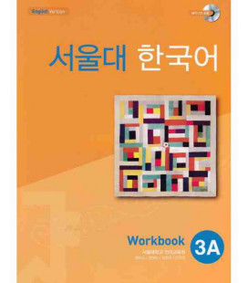 Seoul University Korean 3A Worbook- English Version (Includes CD MP3)
