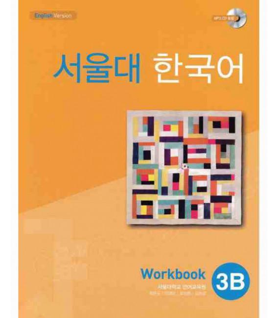 Seoul University Korean 3B Worbook- English Version (Includes CD MP3)