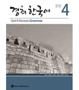 Get it Korean 4 (Grammar) Kyunghee Hangugeo (Libro + CD)