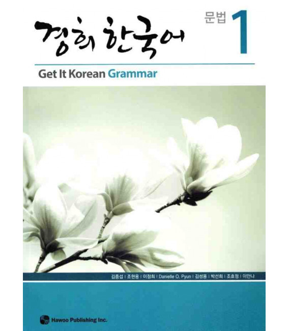 Get it Korean 1 (Grammar) Kyunghee Hangugeo (Libro + CD)
