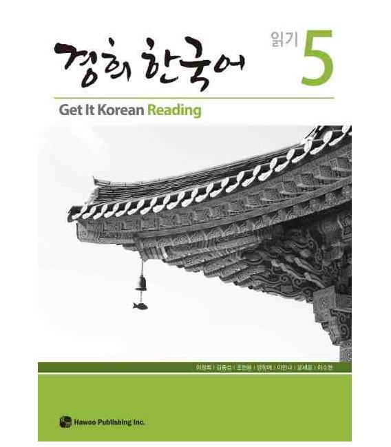 Get it Korean 5 (Reading) Kyunghee Hangugeo (Book + Audio CD)