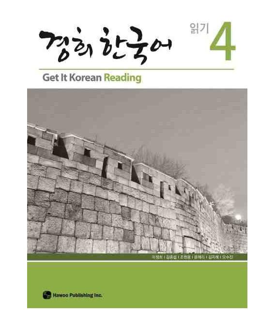 Get it Korean 4 (Reading) Kyunghee Hangugeo (Libro + CD)