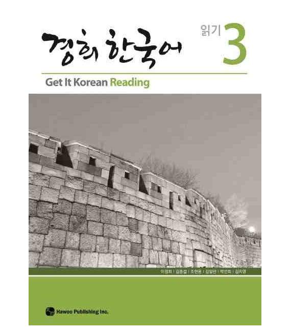 Get it Korean 3 (Reading) Kyunghee Hangugeo (Libro + CD)