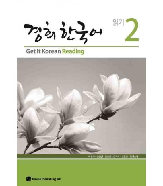 Get it Korean 2 (Reading) Kyunghee Hangugeo (Libro + CD)