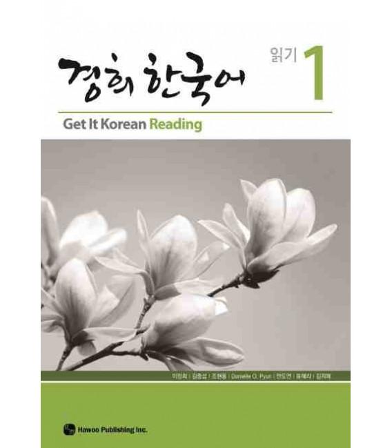 Get it Korean 1 (Reading) Kyunghee Hangugeo (Libro + CD)