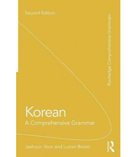 Korean - A Comprehensive Grammar, 2nd Edition