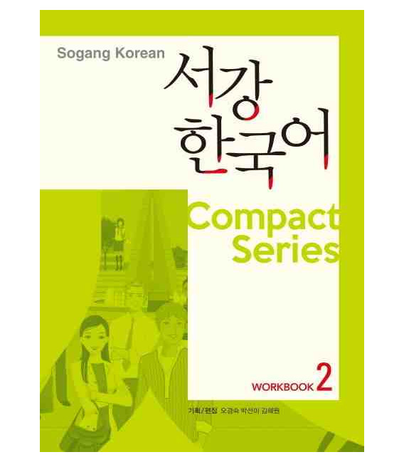 Sogang Korean Compact Series 2 - Workbook (Audio CD Included)