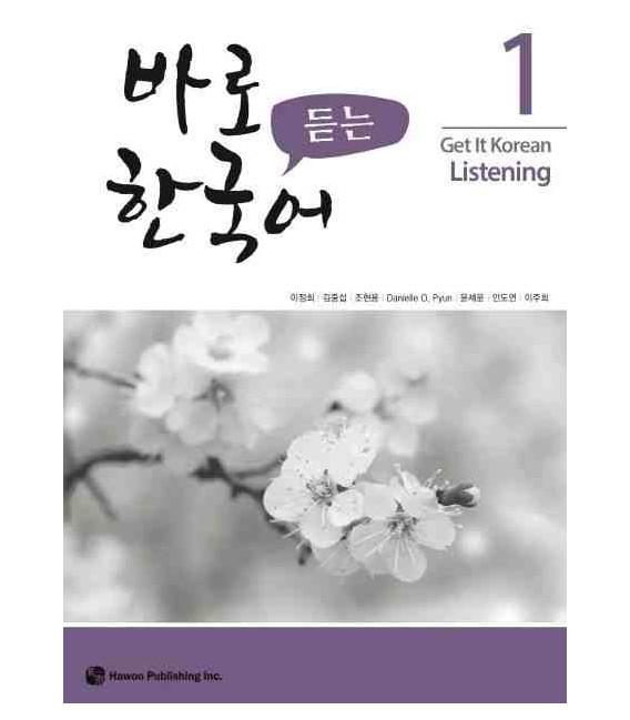 Get it Korean 1 (Listening) Kyunghee Hangugeo (Con download gratuito degli audio)