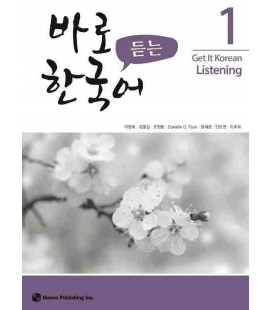 Get it Korean 1 (Listening) Kyunghee Hangugeo (Incl. Audio/MP3 à télécharger)