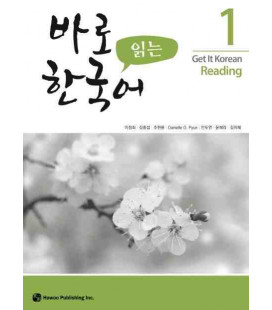 Get it Korean 1 (Reading) Kyunghee Hangugeo (Incl. Audio/MP3 à télécharger)
