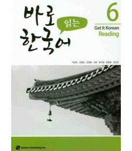 Get it Korean 6 (Reading) Kyunghee Hangugeo (Incl. Audio/MP3 à télécharger)
