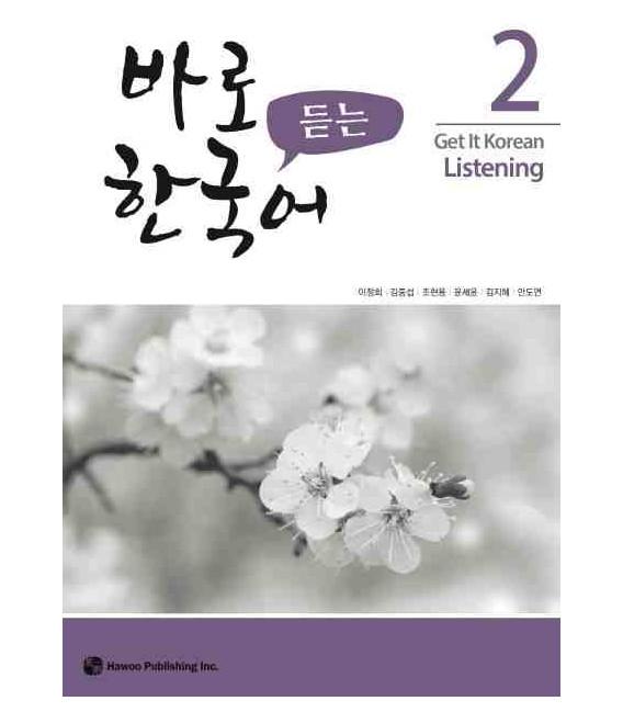 Get it Korean 2 (Listening) Kyunghee Hangugeo (inkl. Audio-Dateien zum Download) - überarbeitete Auflage