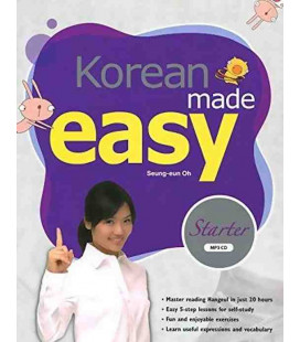 Korean made easy Starter (Incluye CD MP3)