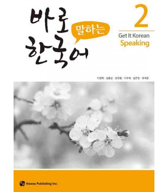 Get it Korean 2 (Speaking) Kyunghee Hangugeo (Book + Audio CD)