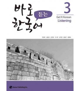 Get it Korean 3 (Listening) Kyunghee Hangugeo (Con download gratuito degli audio)