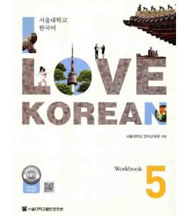 I Love Korean 5 - Workbook (Codice QR per audio)