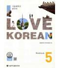 I Love Korean 5 - Workbook (Audio en código QR)