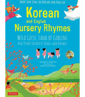 Korean and English Nursery Rhymes - CD and audio download included
