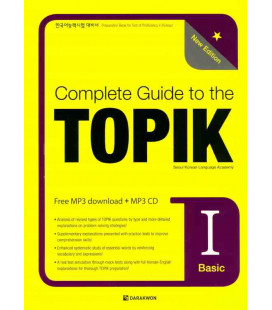 Complete Guide to the TOPIK I - New Edition (Basic) - CD Inclus