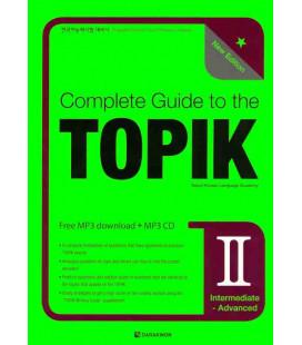 Complete Guide to the TOPIK II - New Edition (Intermediate/Advanced)- CD Incluso