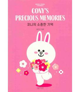 Cony's Precious Memories (Libro de literatura en coreano)