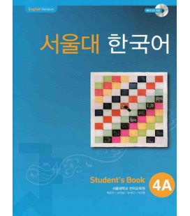 Seoul University Korean 4A Student's Book - English Version (CD-ROM incluso)