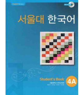 Seoul University Korean 4A Student's Book - English Version (CD-ROM incluso)