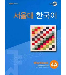 Seoul University Korean 4A Workbook- English Version (Includes CD MP3)