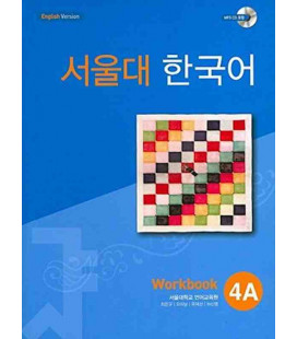 Seoul University Korean 4A Workbook - English Version (Incluye CD MP3)